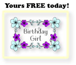 BirthdayGirlFlowerFrame
