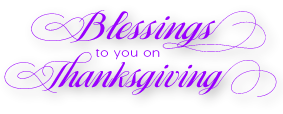 BlessingsOnThanksgiving
