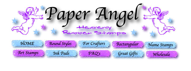 Welcome To Paper Angel Rubber Stamps We Offer Rectangular Address Name For Crafters And Stamp Artists